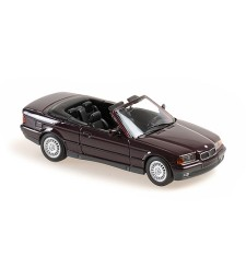 BMW 3-SERIES CABRIOLET - 1993 - PURPLE METALLIC - MAXICHAMPS