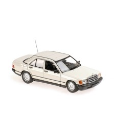 MERCEDES-BENZ 190E - 1984 - WHITE - MAXICHAMPS