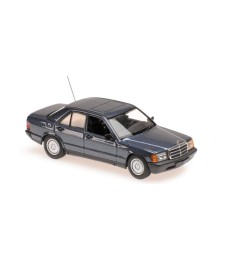 MERCEDES-BENZ 190E - 1984 - BLUE METALLIC