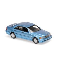 MERCEDES-BENZ C-CLASS - 1997 BLUE METALLIC - MAXICHAMPS