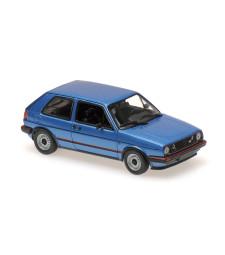 VOLKSWAGEN GOLF GTI – 1985 – BLUE METALLIC - MAXICHAMPS