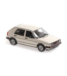 VOLKSWAGEN GOLF GTI 4-DOOR - 1986 - WHITE - MAXICHAMPS