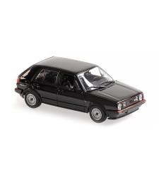 VOLKSWAGEN GOLF GTI 4-DOOR -1986 - BLACK - MAXICHAMPS
