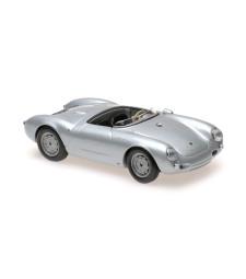 PORSCHE 550 SPYDER - 1955 - SILVER - MAXICHAMPS