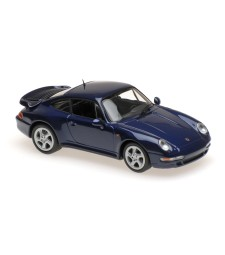 PORSCHE 911 TURBO S (993) - 1997 - BLUE METALLIC - MAXICHAMPS
