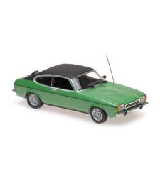 FORD CAPRI II - 1974 - GREEN METALLIC  - MAXICHAMPS
