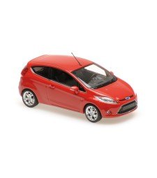 FORD FIESTA - 2008 - RED - MAXICHAMPS