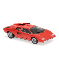LAMBORGHINI COUNTACH LP 400 - 1970 - RED - MAXICHAMPS