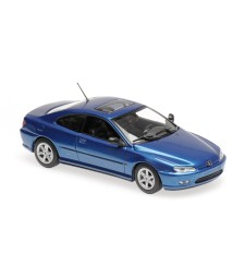 PEUGEOT 406 COUPE - BLUE METALLIC - MAXICHAMPS