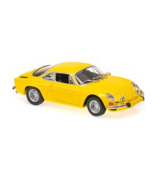 RENAULT ALPINE A110 - 1971 - YELLOW - MAXICHAMPS
