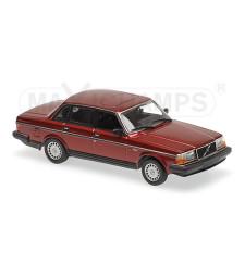 VOLVO 240 GL - 1986 - DARK RED METALLIC  - MAXICHAMPS