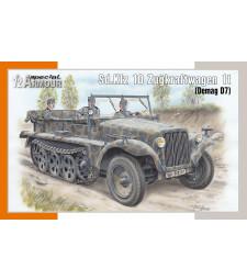 1:72 Sd.Kfz 10 Zugkraftwagen 1t (Demag D7)