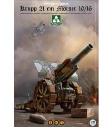 1:35 Krupp 21 cm Mörser 10/16 2 in 1