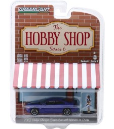 2013 Dodge Charger Super Bee with Woman in Dress Solid Pack - The Hobby Shop Series 6