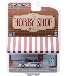 The Hobby Shop Series 8 - 1975 Volkswagen Rabbit Widebody with Race Car Driver Solid Pack