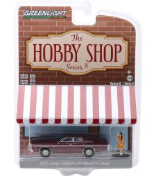 he Hobby Shop Series 8 - 1976 Dodge Coronet with Woman in Dress Solid Pack