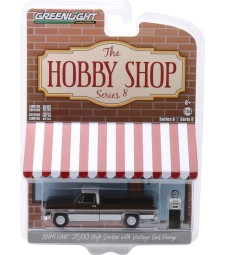 The Hobby Shop Series 8 - 1984 GMC 2500 High Sierra with Vintage Gas Pump Solid Pack