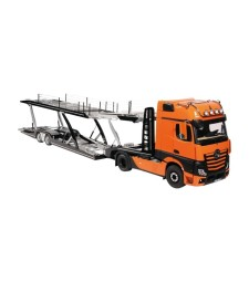 MERCEDES BENZ ACTROS GIGASPACE 4X2 & LOHR CAR TRANSPORTER