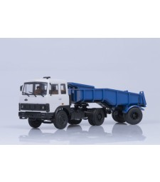 MAZ-5432 with Dumper Trailer MAZ-5232V