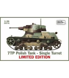1:35 7TP Polish Tank-Single Turret Limited
