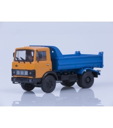 MAZ-5551 Dumper Truck Early Version - orange-blue
