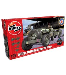 1:72 Willys British Airborne Jeep