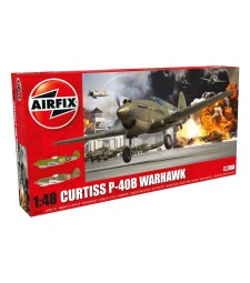1:48 Curtiss P-40B Warhawk