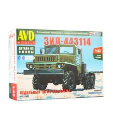 ZIL-443114 tractor truck - Die-cast Model Kit