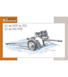 1:35 Kanón 3,7 cm KPUV vz.37M / 3,7 cm Pak M 37 (t)