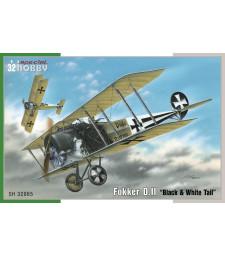 """1:32 Fokker D.II """"Black & White Tail"""""""
