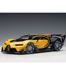Bugatti Vision GT 2015 (giallo midas yellow/ black carbon) (composite model/2 door openings)