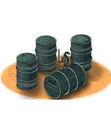 1:35 GERMAN WWII 200L OIL DRUMS