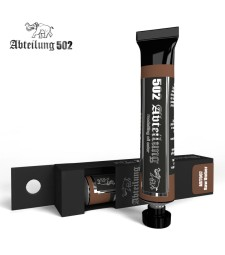 ABT007 Raw Umber 20 ml - Abteilung 502 Oil paint