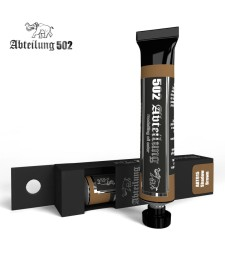ABT015 Shadow Brown 20 ml - Abteilung 502 Oil paint
