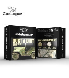ABT402 DUST & DIRT - PIGMENTS SET (4 x 20 ml)