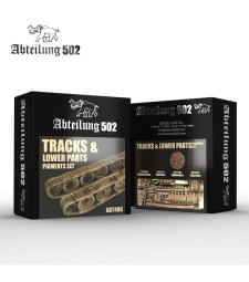 ABT406 TRACKS & LOWER PARTS - PIGMENTS SET (4 x 20 ml)