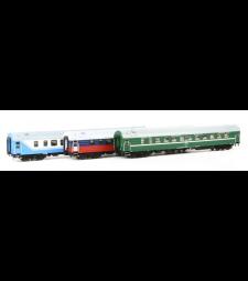 "D 1248/1249 ""Saratov Express"" Sleeping Cars Set, epoch V"