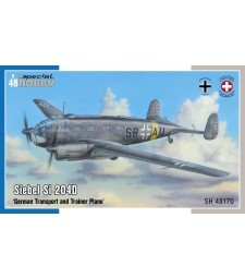 1:48 Siebel Si 204D  'German Transport and Trainer Plane'