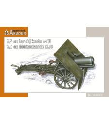 1:35 7.5 cm mounted cannon vz.15 / 7.5 cm Gebirgs Kanone M.15