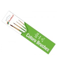 Coloro Brush Pack - Size 00, 1, 4 and 8