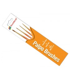Palpo Brush Pack - Size 000, 0, 2 и 4