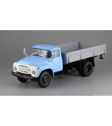 ZIL-130-76 Flatbed Truck -Blue-Grey-