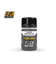 AK2075 PANELINER FOR BLACK CAMOUFLAGE (35 ml)  - Air Weathering Product