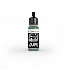 AK-2302 RADOME GREEN - Air Series Acrylic Paints (17 ml)