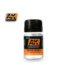 AK011 WHITE SPIRIT (35 ml)  - Auxiliary Products