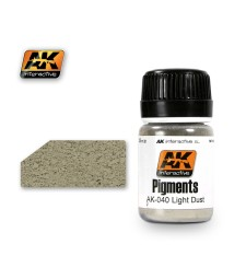AK040 LIGH DUST  (35 ml) - Pigment Colors