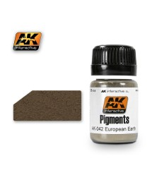 AK042 EUROPE EARTH  (35 ml) - Pigment Colors