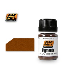 AK043 MEDIUM RUST  (35 ml) - Pigment Colors