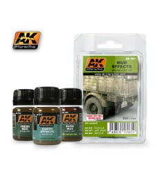 AK061 MUD - Weathering Set (3 x 35 ml)