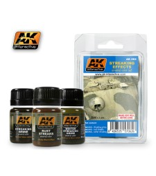 AK062 STREAKS - Weathering Set (3 x 35 ml)